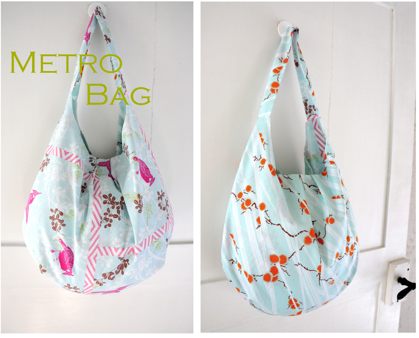 Patterns For Bags : Our Metro Bag Pattern is fun and simple to make. This bag has a great ...